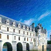 Castles Of France Art Print