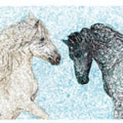 Castor And Pollux Art Print
