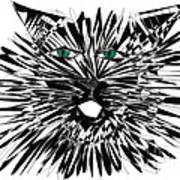 Cat Iwan Art Print