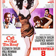 Cat On A Hot Tin Roof, Combo Poster Art Print