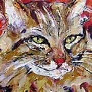 Feline Portrait  Art Print
