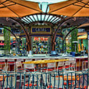 Catal Outdoor Cafe Downtown Disneyland 01 Art Print