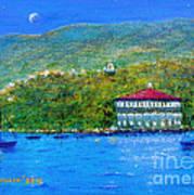 Catalina Island Night Art Print
