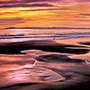 Catalina Sunset Art Print