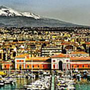 Catania Sicily Art Print