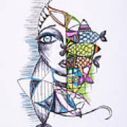 Catch Art Print by Chibuzor Ejims