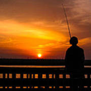 Catching The Sunset Art Print