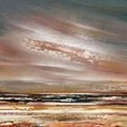 Catcleugh Reservoir Series Sunset Art Print