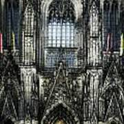 Cathederal In Koln Art Print