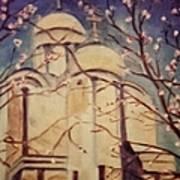 Cathedral At Springtime Art Print