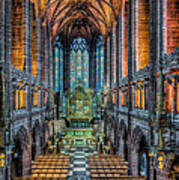 Cathedral Chapel Art Print