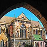 Cathedral Colmar France Art Print
