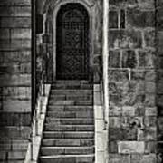 Cathedral Door And Steps Art Print