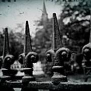 Cathedral Fence Art Print