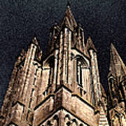 Cathedral In The Sky Art Print