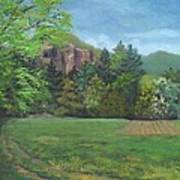 Cathedral Ledge from Westside Road Art Print