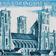 Cathedral Of Laon Art Print