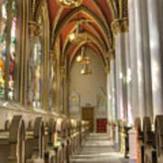 Cathedral Of Saint Helena Art Print