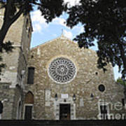 Cathedral Of San Giusto Art Print