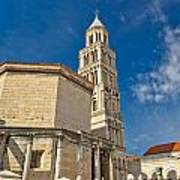 Cathedral Of Split Diocletian Palace Art Print