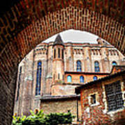 Cathedral Of Ste-cecile In Albi France Art Print