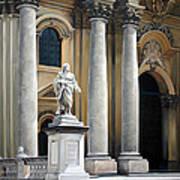 Cathedral Of Syracuse Art Print by Kathleen English-Barrett