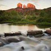 Cathedral Rock At Red Rock Art Print