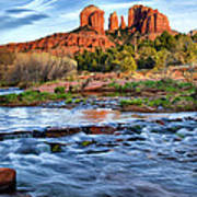 Cathedral Rock II Art Print