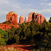 Cathedral Rock Art Print
