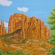 Cathedral Rock Sedona Az Right Art Print