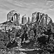 Cathedral Rocks Red Rock State Park Arizona Art Print