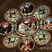 Cathedral Stained Glass Art Print