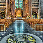 Cathedral Way Art Print by Adrian Evans