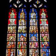 Cathedrale D'aix En Provence.france Art Print