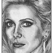 Catherine Deneuve In 1976 Art Print