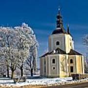 Catholic Church In Town Of Krizevci Art Print