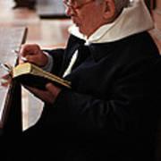 Catholic Priest Art Print