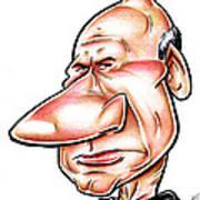 Catian Jean Luc Picard Art Print by Big Mike Roate