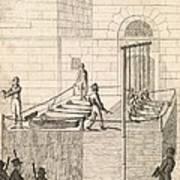 Cato Street Conspiracy Executions, 1820 Art Print