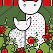 Cats 5 Art Print