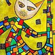 Cats 583 Art Print
