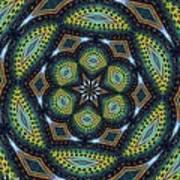 Cats Eye Marble Art Print by Alec Drake