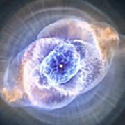 Cat's Eye Nebula Art Print