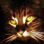 Cat's Eyes - Fractal Art Print