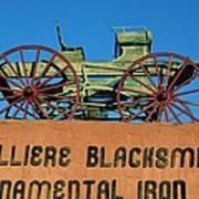 Cavalliere Blacksmith  Art Print