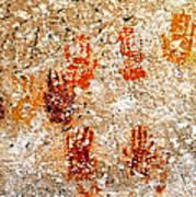 Cave Of A Thousand Hands Art Print