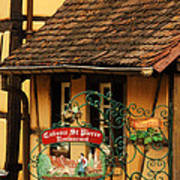 Caveau St Pierre Sign In Colmar France Art Print