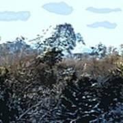 Cavehill In The Snow 2 Art Print