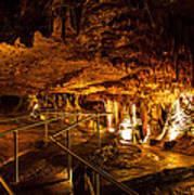 Cavern Path 3 Art Print