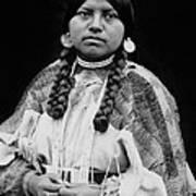 Cayuse Woman Circa 1910 Art Print